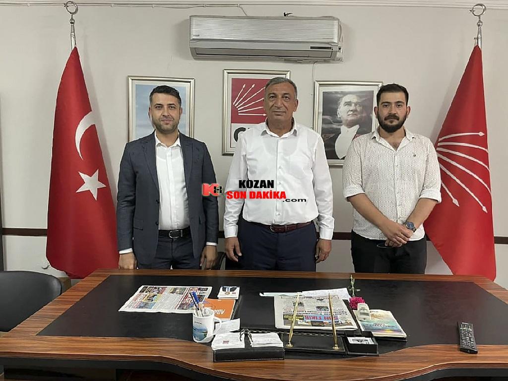 CHP İl Gençlik Kolları Kozan'a çıkarma yaptı