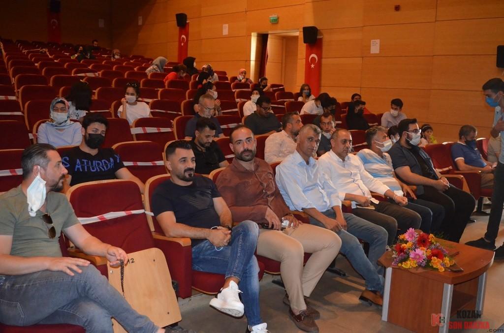 Kozan Tugva  '' Gençlik ve Diriliş '' konulu konferans gerçekleştirildi