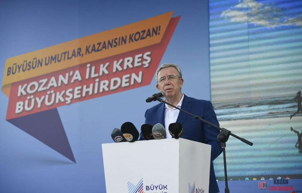 Kozan'a ilk kreş Büyükşehir'den