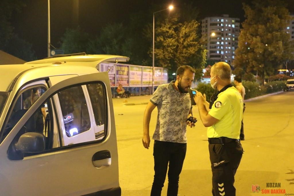 Kozan'nın farklı noktalarında  Huzur ve Güven Uygulaması yapıldı