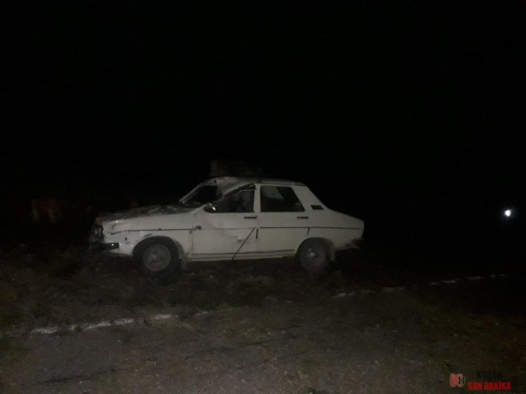 horzumda araba üzerine ağaç düştü (1)