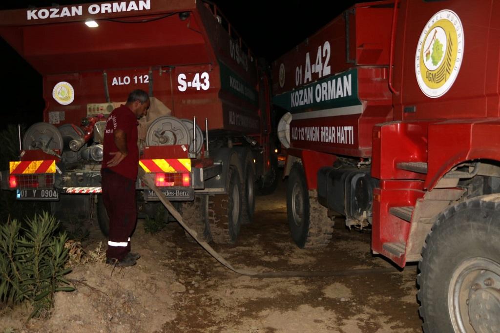 Alevler bukez Turgutlu mahallesinde yükseldi