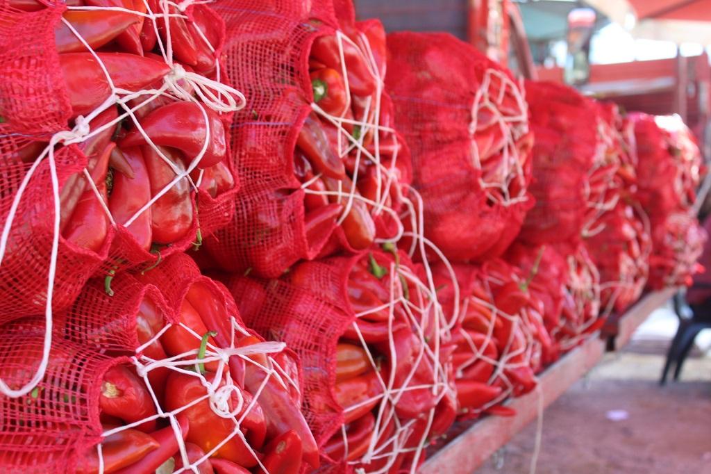 Kozan'da biber salçası sezonu açıldı