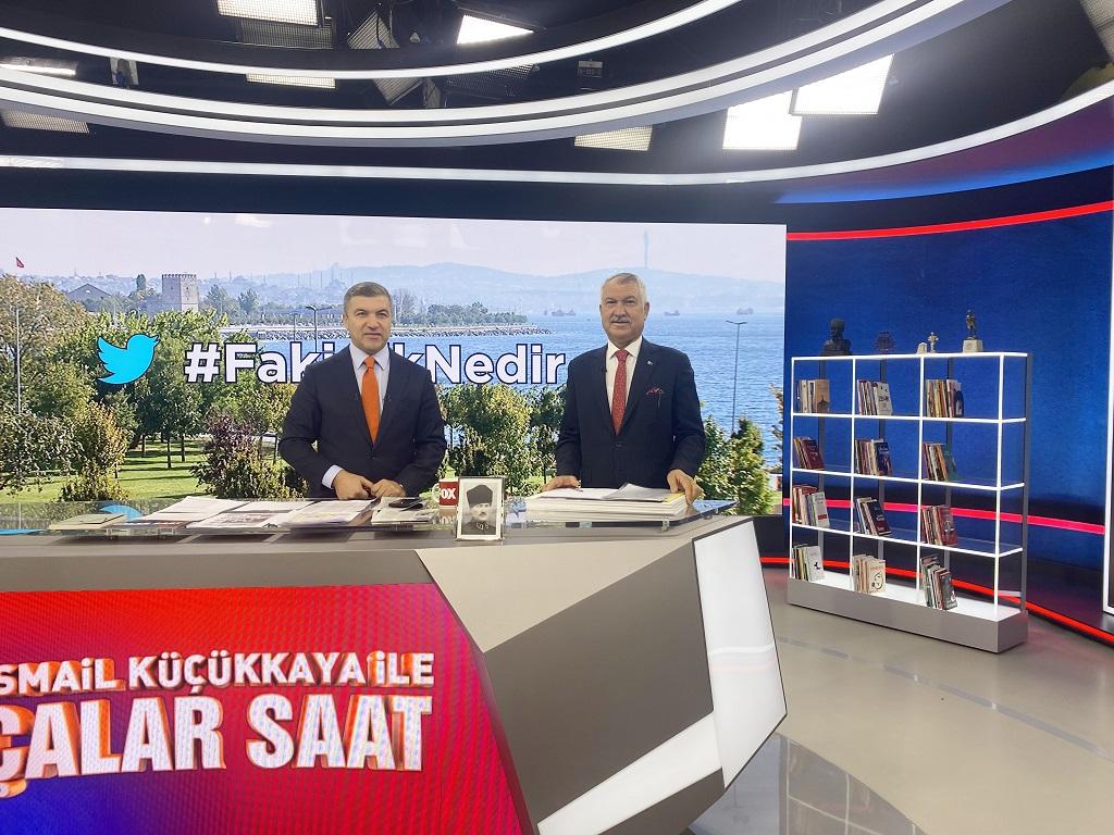 Başkan Zeydan Karalar, Çalar Saat'te ülke ve Adana gündemine ilişkin soruları yanıtladı