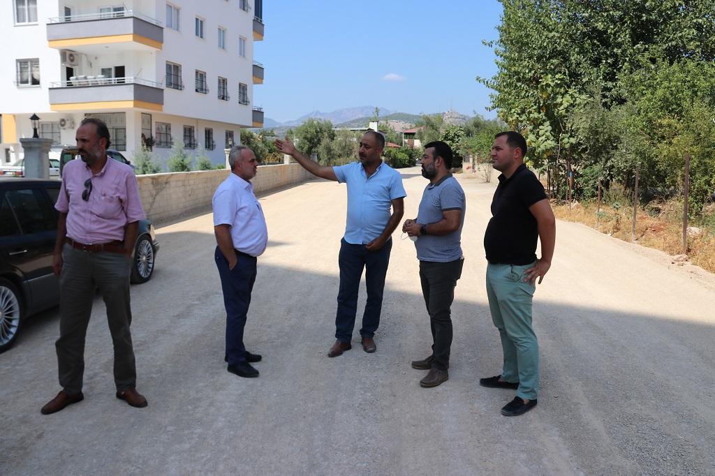 Kozan Belediyesi ilçedeki ulaşım yatırımlarını sürdürüyor