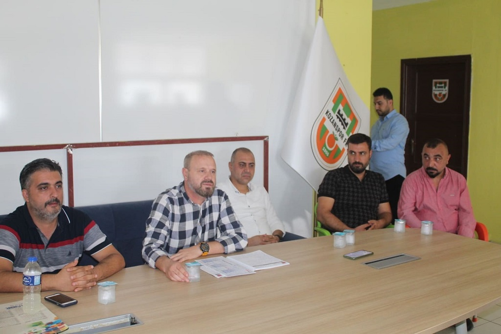 Kozanspor FK Yeni Yönetimi Basınla Bir Araya Geldi